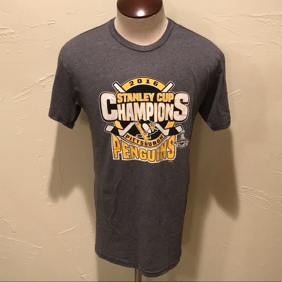 best authentic 059c9 f8600 Pittsburgh Penguins Stanley Cup Mens Large Shirt